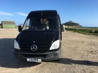 Mercedes sprinter 2008 313 cdi luxury camper van