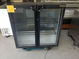 TWO DOOR BAR FRIDGE AST233