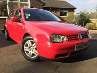 8 MONTHS MOT*VW GOLF GTI 2.0 (115BHP)5DR*MAY PX*