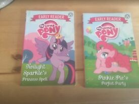 2 x My Little Pony Early Reader books