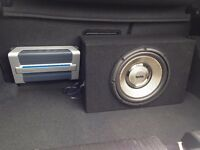 Infinity Sub and Amp - Excellent Condition