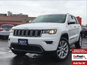 2017 Jeep Grand Cherokee LIMITED**4X4**LEATHER**SUNROOF**NAVIGAT