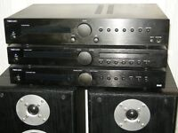 TIBO TI400 Hifi System Stereo Amplifier Speakers CD Player & DAB Tuner