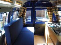 Fiat Doblo 2007 1.4 Petrol High Roof Campervan/Mini Motorhome great for Day Van or weekend away