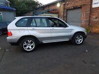 FOR SALE BMW X5 2002 PETROL 3.0L SPORT MANUAL £1899