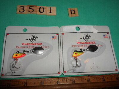 T3607 F WINCHESTER WHIRLEY BIRD FISHING LURE MADE IN USA 1//2 OZ