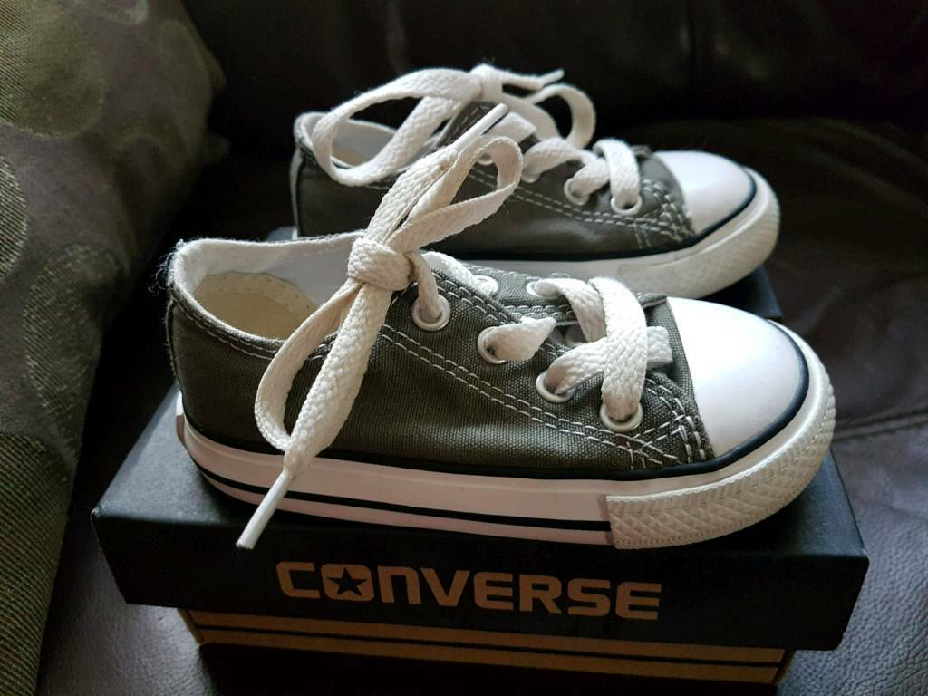 8c0148fb91f Toddler Grey Converse. Crumlin ...