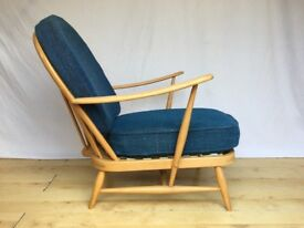 Vintage Ercol 203 Armchair lounge easy chair 1960s