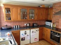 Oak kitchen doors and range of units