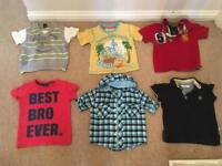 Boys Tops and T Shirts
