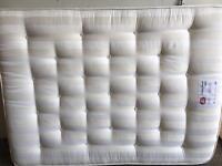 Kingsize mattress.