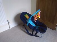Baby Bouncer / Rocker - Winnie the Pooh in Great Condition