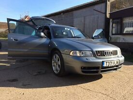 Audi S4 Avant, in Beautiful unmolested condition, wants for nothing, bar some fuel and a new owner!
