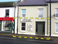 Excellent retail / office space in prominent location in Ballymoney
