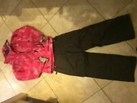 Girls ski jacket and trousers....age 12 -ish
