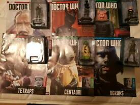 DR WHO FIGURINE COLLECTION