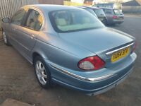 JAGUAR X TYPE FULL CREAM LEATHER ( ANY OLD CAR PX WELCOME ) EXCELLENT CONDITION,, SWEET DRIVE