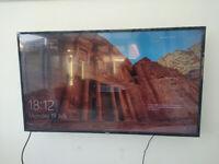 "Screen NEC E425-J1 42"" 1080p Display Monitor + TV Wall Bracket"