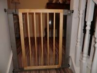 Two safety gates. Mothercare and Baby Dan type. Excellent condition