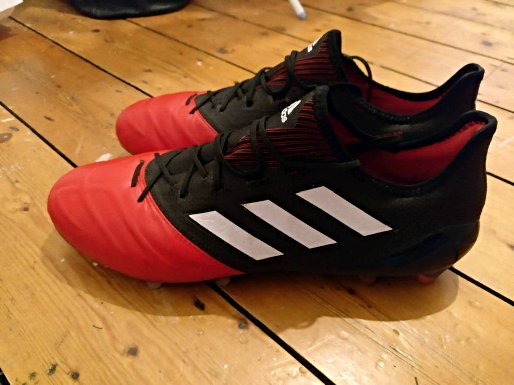 Adidas Ace 17.1 Primeknit UK12 red   black RRP £150  4b842ee8ae44