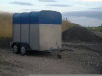 Horse trailer / Stock trailer VGC , tows well . good solid trailer