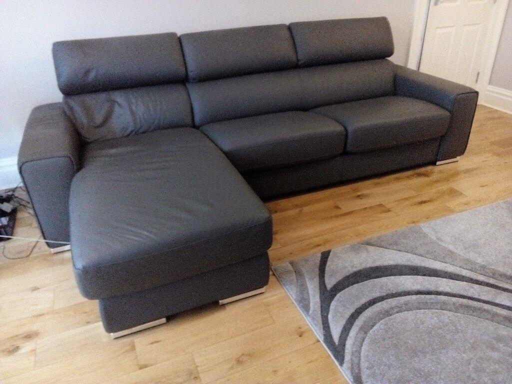 Leather Corner Sofa Dfs Kalamos Bought New April 2017