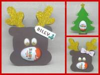 Personalised kinder egg holders