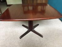 Beautiful Rosewood Coffee Table and Rosewood Nest of tables and Dining Room Suite for sale