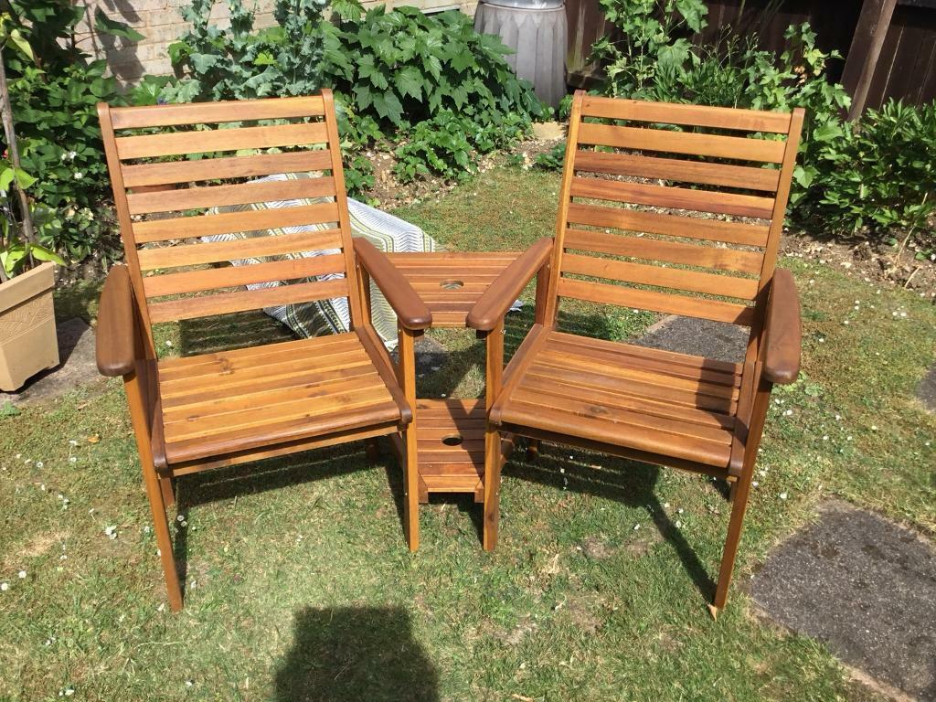 Swell Jack And A Jill Garden Seat In Stevenage Hertfordshire Gumtree Bralicious Painted Fabric Chair Ideas Braliciousco