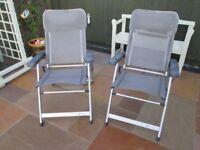 Gelert Beyond Reclining Garden Chairs