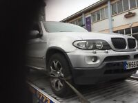 05 BMW X5 3.0 DIESEL AUTO THIS CARS FOR PARTS ALL PARTS AVALIABLE