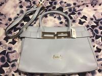 Blue Harrods Handbag New
