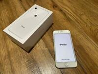 iPhone 8 64g white -mint condition
