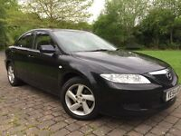 2005 Mazda6 2.0 TS2 5dr Low miles 12 Months mot sunroof Bose speakers 6 cd changer