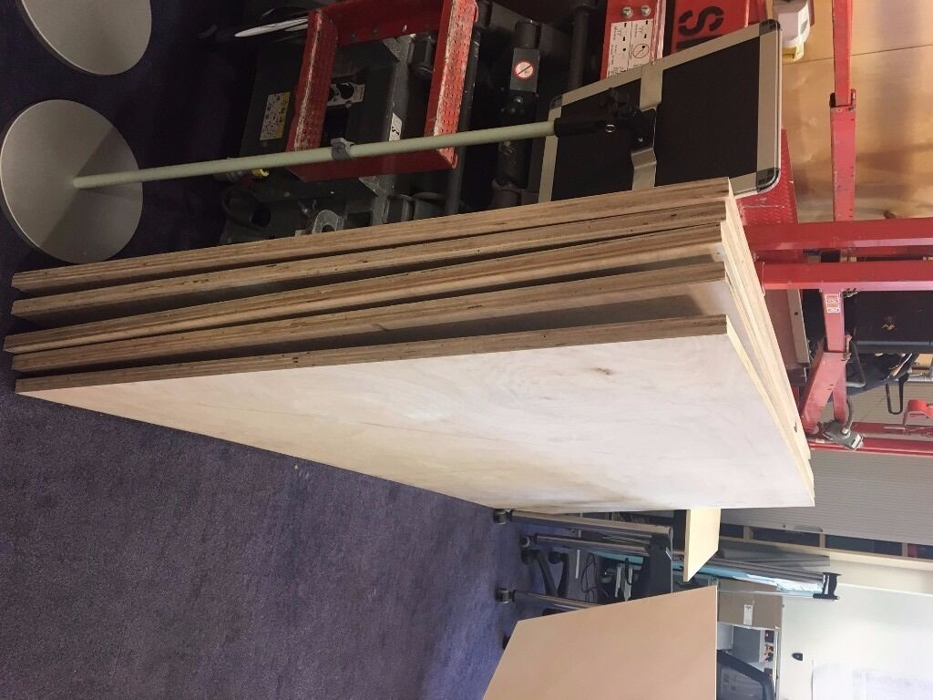 5 x 25mm Ply boards