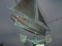 boat weather vane