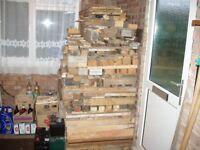 Bulk Heap Mixed Wood for Fuel.