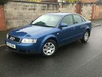 2002*AUDI A4 1.9 TDI 100BHP*FULL SERVICE*2 OWNERS*12 MONTHS MOT*CLIMATRONIC*CAMBELT CHANGED*WARRANTY