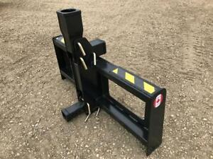 Skid Steer & Tractor Trailer Hitches --- Canadian Built --- 1 Year Warranty --- Quick Attach OR 3 Pt Hitch