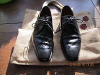 GIEVES and HAWKES, shoes, bench made in England black, size 9 £25.00