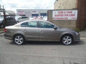 Volkswagen PASSAT SE Bluemotion Tech TDI,4 door saloon,1 previous owner,FSH,full MOT,£30 road tax