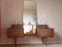 G Plan Bedroom Furniture Retro Mid Century - Wardrobe, Dressing Table, Drawers, Bedside Drawers