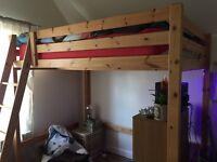 Loft Bed Double Ikea Stora