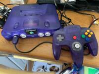 N64 Nintendo 64 ltd Ed console