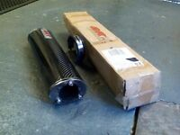 Motor cycle silencer