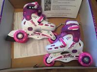 Girls roller blades