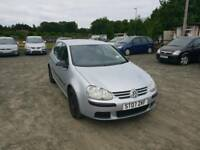 Golf tdi SE 1.9L Diesel 5DR 2007 long mot service history excellent condition