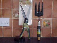 Brand new garden hand tools