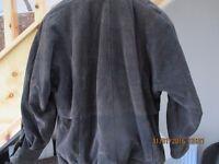 Brown Suede Ladies Jacket