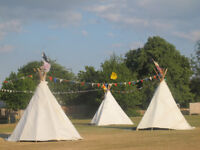 MAGICAL WHITE WIGWAM 12 FOOT PERMANENT OUTDOOR SOFTPLAY INSULATED THICK STRONG SUN PROOF WATERPROOF
